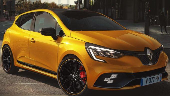 Nuova Clio RS, il render di X-Tomi Design