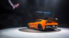 Nuova Corvette ZR1 2019: la colorazione speciale Sebring Orange Design Package