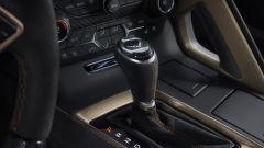 Nuova Corvette ZR1 2019: la leva del cambio automatico a 8 rapporti