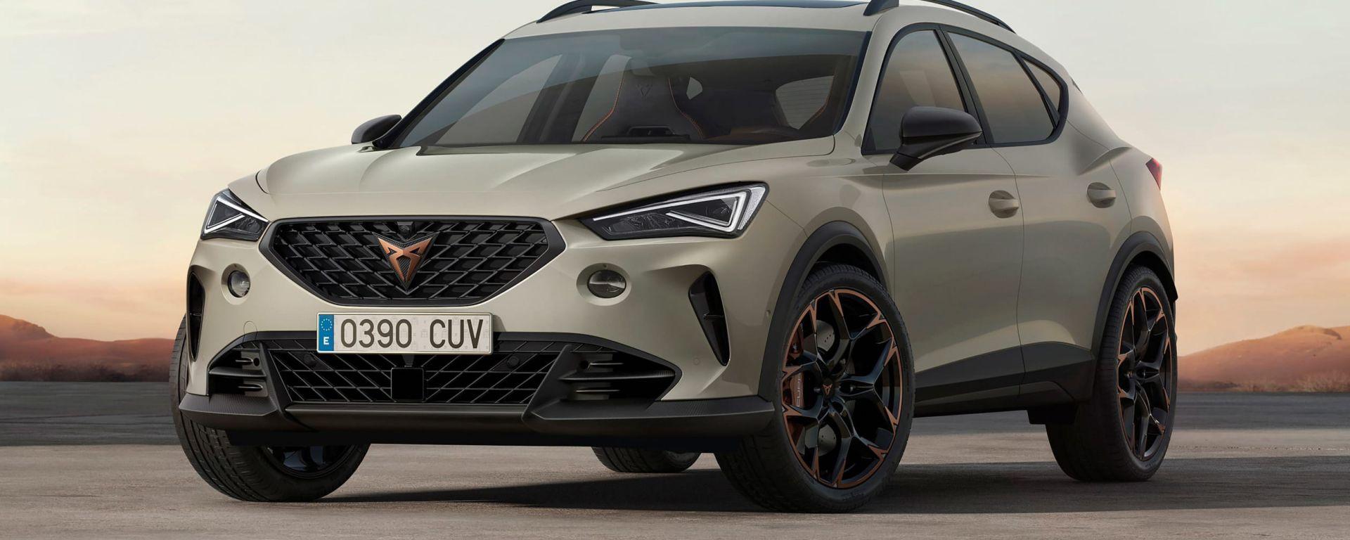 Nuova Cupra Formentor VZ5: in arrivo il SUV-Coupé più potente della gamma