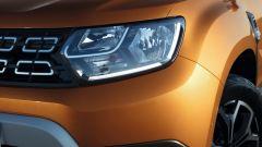 Nuova Dacia Duster 2018: dettaglio del faro anteriore