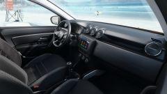 Nuova Dacia Duster 2018: dettaglio del posto guida