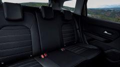 Nuova Dacia Duster 2018: i sedili posteriori