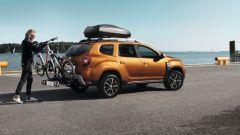 Nuova Dacia Duster 2018: il portabici