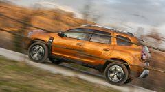 Nuova Dacia Duster 2018: il profilo è più filante grazie al montante avanzato di 10 cm