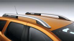 Nuova Dacia Duster 2018: le barre sul tetto
