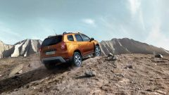 Nuova Dacia Duster 2018: vista 3/4 posteriore