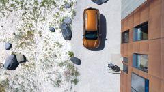 Nuova Dacia Duster 2018: vista dall'alto