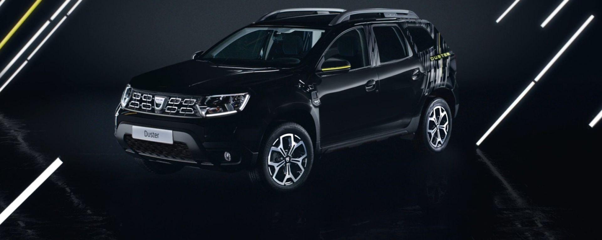 Nuova Dacia Duster Black Collector: solo 500 unità