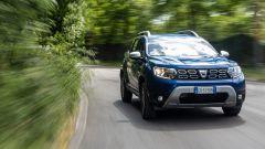 Nuova Dacia Duster TCe 100 ECO-G, 0-100 km/h in 12,5 secondi