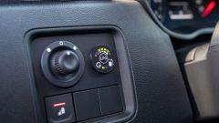 Nuova Dacia Duster TCe 100 ECO-G, il commutatore di alimentazione del motore