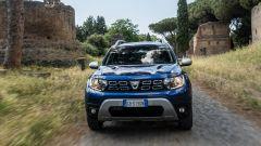 Nuova Dacia Duster TCe 100 ECO-G, il frontale