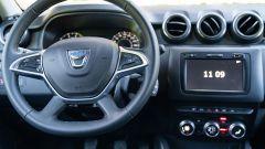 Nuova Dacia Duster TCe 100 ECO-G, la plancia