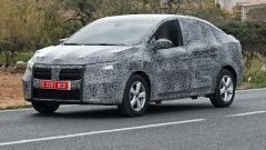 Nuova Dacia Logan: il 3/4 anteriore