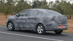 Nuova Dacia Logan: il 3/4 posteriore