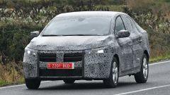 Nuova Dacia Logan: il frontale