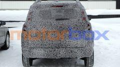 Nuova Dacia Logan MCV: una vista della zona posteriore