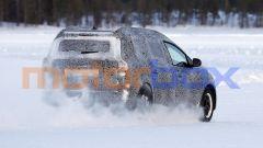 Nuova Dacia Logan MCV: una vista di 3/4 posteriore