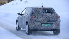Nuova Dacia Sandero 2021: posteriore