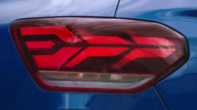 Nuova Dacia Sandero, il faro posteriore