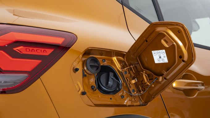 Nuova Dacia Sandero Stepway 2021: dettaglio