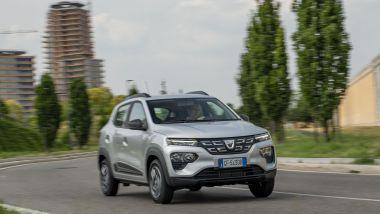Nuova Dacia Spring: 45 CV a zero emissioni e fino a 305 km di autonomia dichiarata