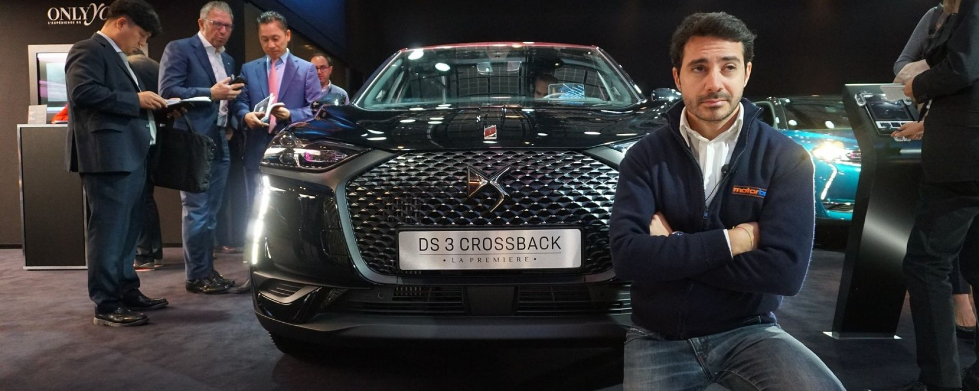 Nuova DS 3 Crossback: in video dal Salone di Parigi 2018
