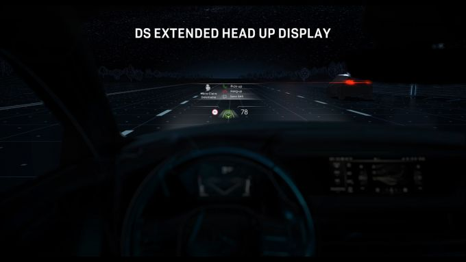 Nuova DS 4: il DS Extended Head Up Display