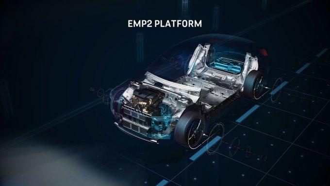 Nuova DS 4: la piattaforma EMP2 è stata ulteriormente sviluppata