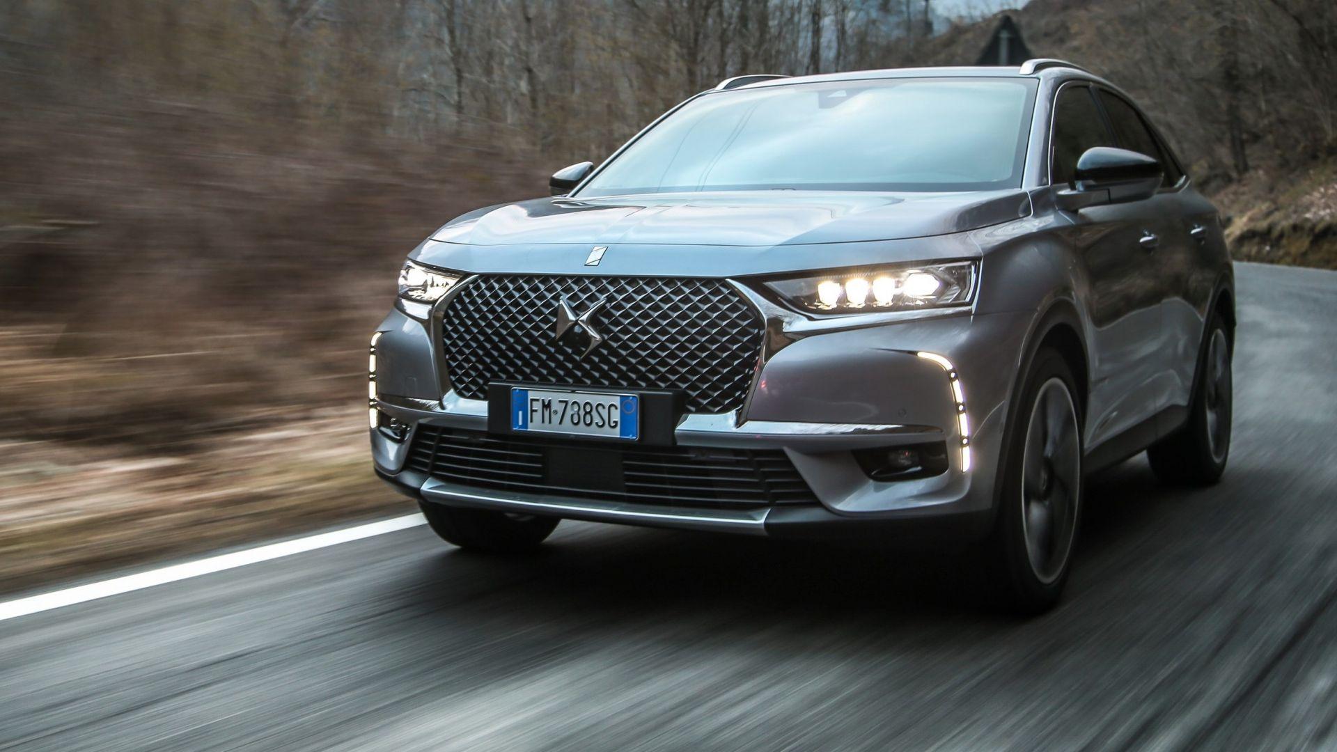 nuova ds 7 crossback 2018  prova su strada  motori  interni  prezzi