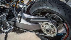 Nuova Ducati Monster 1200 S, forcellone monobraccio