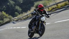 Nuova Ducati Monster 1200 S, in velocità