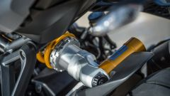 Nuova Ducati Monster 1200 S, mono Ohlins