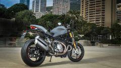 Nuova Ducati Monster 1200 S, tre quarti posteriore
