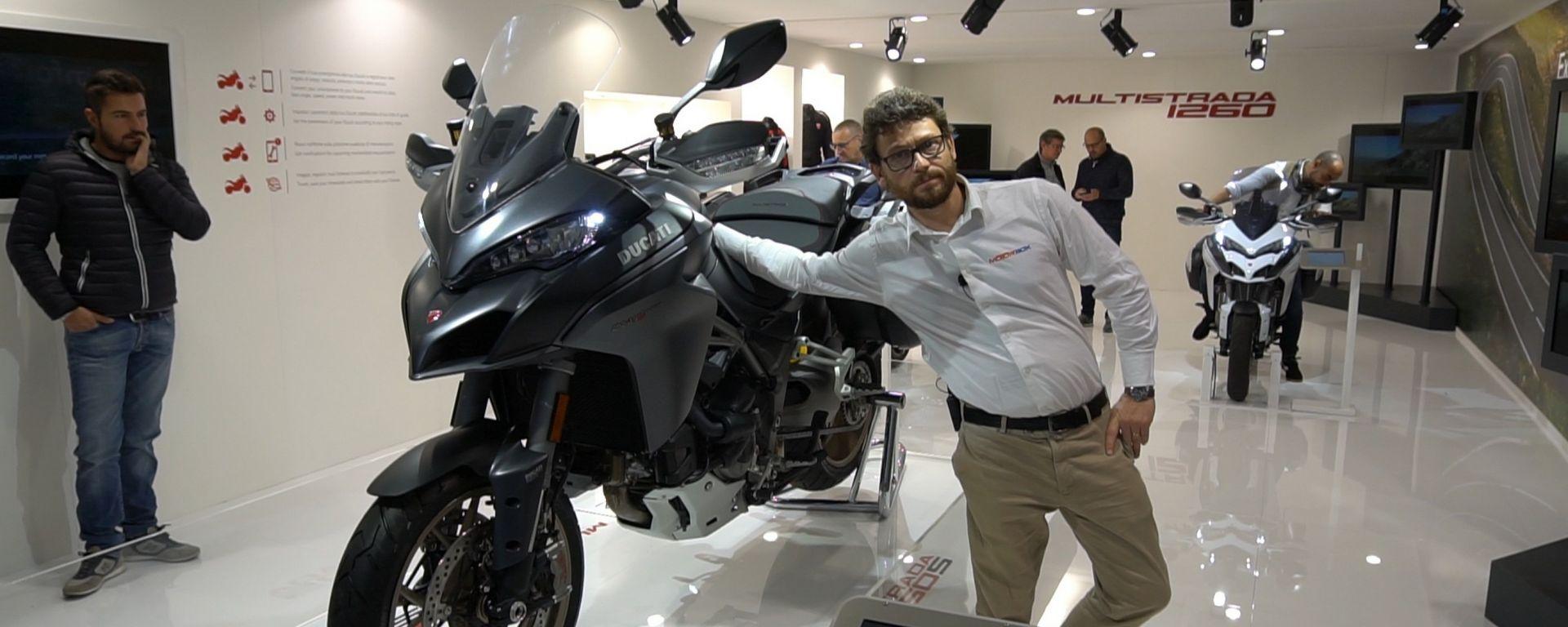 Nuova Ducati Multistrada 2018: il motore cresce fino a 1260 cc [VIDEO]