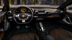 Nuova Ferrari 812 GTS, gli interni