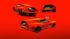 Nuova Ferrari Breadvan, i bozzetti