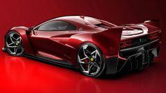 Nuova Ferrari F40: ritorna l'iconica supercar...in un render - Immagine: 3