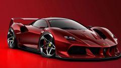 Nuova Ferrari F40: ritorna l'iconica supercar...in un render - Immagine: 4