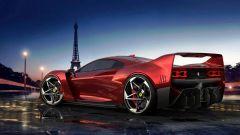 Nuova Ferrari F40: ritorna l'iconica supercar...in un render - Immagine: 7