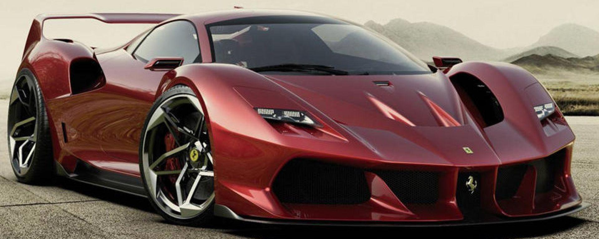 Nuova Ferrari F40: ritorna l'iconica supercar...in un render