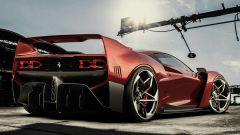 Nuova Ferrari F40: ritorna l'iconica supercar...in un render - Immagine: 8