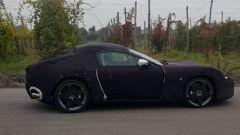 Nuova Ferrari GT: vista laterale