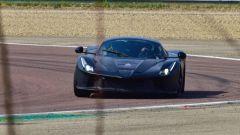 Nuova Ferrari ibrida: il frontale - schermata dal video di Varryx