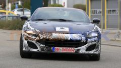 Nuova Ferrari Portofino 2021, dettaglio del nuovo frontale