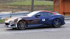 Nuova Ferrari Portofino 2021, una delle foto spia catturate in Germania