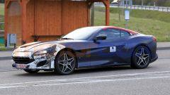 Nuova Ferrari Portofino 2021, vista 3/4 anteriore