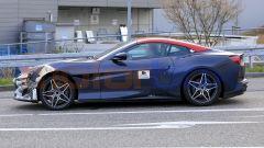 Nuova Ferrari Portofino 2021, vista laterale