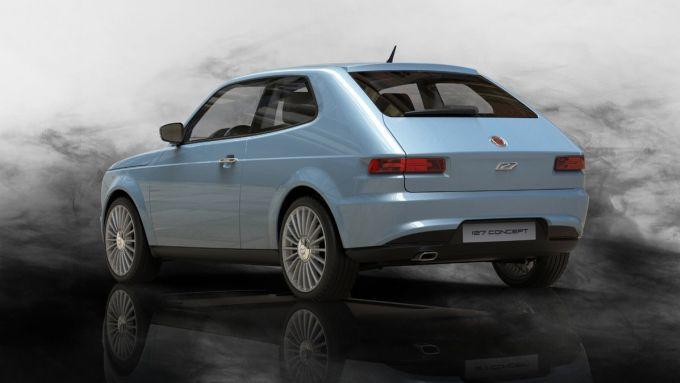 Nuova Fiat 127, il rendering di David Obendorfer