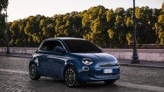 Nuova Fiat 500 elettrica, 320 km di autonomia